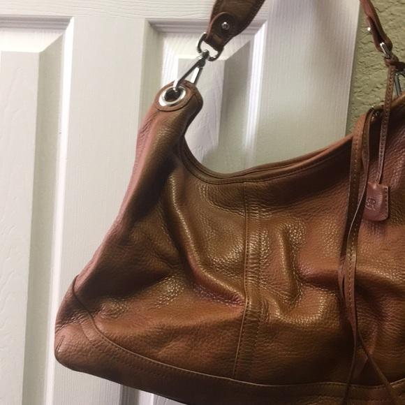 0f0a2102f3c7 Banana Republic cognac leather purse